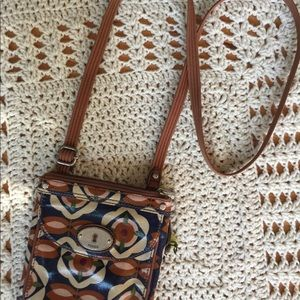 FOSSIL Crossbody Purse/bag Boho style